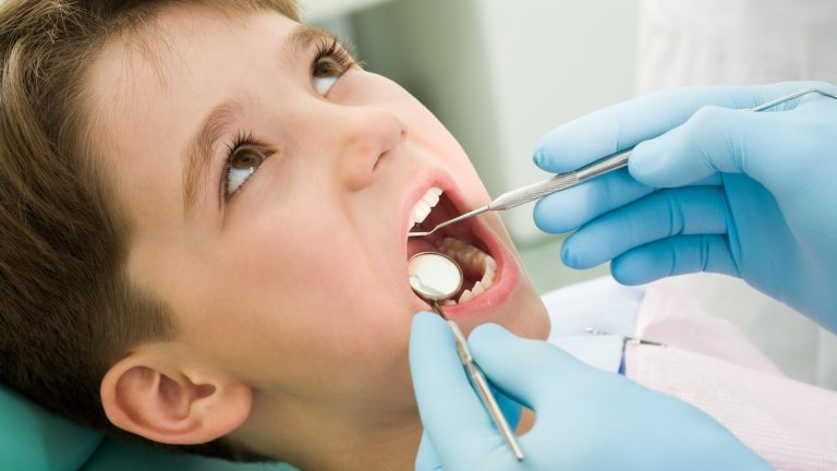 Children tooth decay