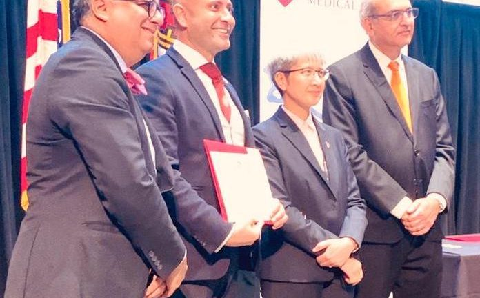 Mark graduates as a Global Scholar in Surgical Leadership