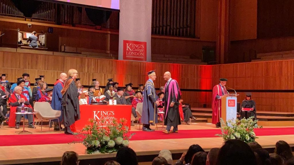 Mark Tangri graduates with Merit in Conscious Sedation for Dentistry